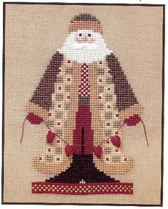 Artists Collection Heartstrings THE SANTA FACTORY  http://crossstitchstash.com/Artists-Collection-Heartstrings-THE-SANTA-FACTORY