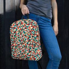 The pockets (including one for your laptop) give plenty of room for all your necessities, while the water-resistant material will protect them from the weather. Vera Bradley Backpack, Backpacks, Bags, Collection, Women, Fashion, Handbags, Moda, Women's