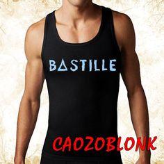 bastille men tank top print screen tank top for men by CAOZOBLONK, $20.00