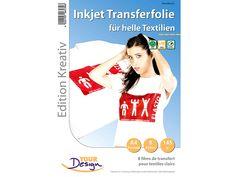 Your Design 8 T-Shirt Transferfolien für weiße Textilien A4 Inkjet Your Design  Bild 1