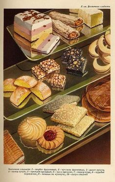 Soviet cakes
