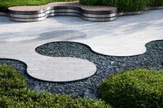 Organic Forms, Clubhouse Design, Open Air Theater, Outdoor Stage, Landscape Architecture Design, Layout, Design System, Chengdu, Pavement