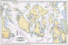 Nautical Placemats Of The Puget Sound Nautical Map Nautical Placemats Nautical Chart
