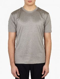 Paul Smith Grey Metallic Slim-Fit T-Shirt The Paul Smith Metallic Slim-Fit T-Shirt for SS16, seen here in grey. - - - This t-shirt from Paul Smith is crafted from premium cotton and cut to offer a slim fit. It is finished with a subtle metall http://www.MightGet.com/january-2017-13/paul-smith-grey-metallic-slim-fit-t-shirt.asp