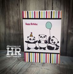 All Things Stampy: Party Pandas - such fun!