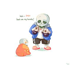 sans and papyrus - This is frickin adorable skelebros - yoo on tumblr