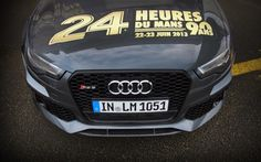 #WotD: Audi RS 6 Avant Le Mans Safety Car is Wallpaper of the Day - Fourtitude.com