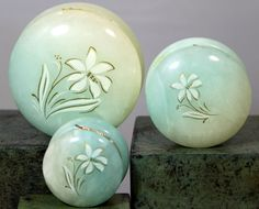 Italian Alabaster Floral Trinket Box Vanity Dresser Set | Collectibles, Vanity, Perfume & Shaving, Vanity Accessories | eBay!