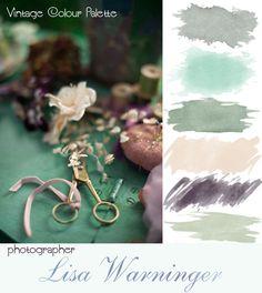 Vintage Colour palette