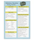 Free Downloadable Travel Planning Checklist from solutions-blog