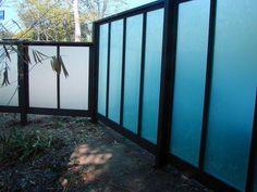 Plexiglass  by Harwell Fencing & Gates Inc. - Los Angeles