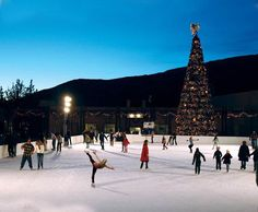 places to ice skate in and around SD