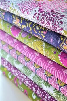 Anthology fabrics -these are beautiful.