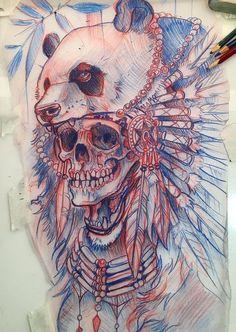 Skull tattoo design. #RemoveTattooTat