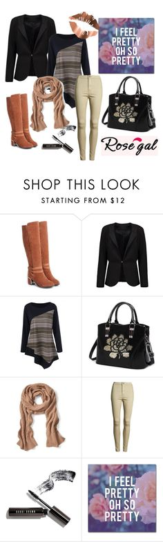 """""""Rosegal"""" by aazraa ❤ liked on Polyvore featuring Banana Republic, Bobbi Brown Cosmetics and Trademark Fine Art"""