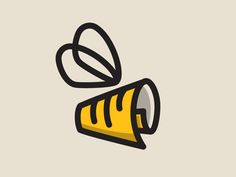 NewsBuzz logo by spoonlancer #Design Popular #Dribbble #shots Graphic Design Company, Custom Logo Design, E Design, Logo Branding, Branding Design, Brand Identity, Logo Word, Abstract Logo, Monogram Logo