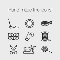 Sewing hand costura 50 ideas - Welcome to our website, We hope you are satisfied with the content we offer. Sewing Art, Hand Sewing, Buch Design, Clothing Logo, Sewing Studio, Hand Designs, Line Icon, Grafik Design, Label Design