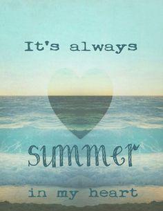 It's Always #Summer In My Heart
