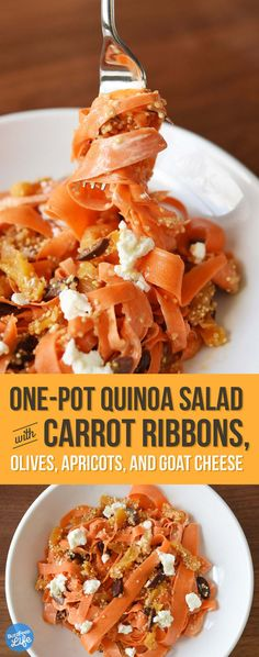 Here's A Quick Carrot-Quinoa Salad You'll Want To Eat Every Day