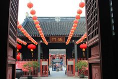 God Temple in Suzhou, China.