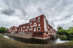 The new #Rijnveste complex in Wageningen
