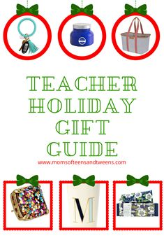 The Perfect Teacher Gifts Holiday Gift Guide, Holiday Fun, Holiday Gifts, Christmas Gifts, Eyes Game, Apple Decorations, Sunday School Teacher, School Colors, Gifts For Boys