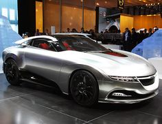Liquid metal concept car is powered by Google Android