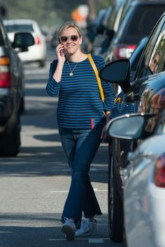 Reese Witherspoon wearing Draper James Howdy Y'All Iphone Case
