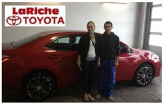 We welcome back one of our own, everyone meet Brandon Shanahan & Mackenzie Demuth with their 2014 #Toyota #Corolla!