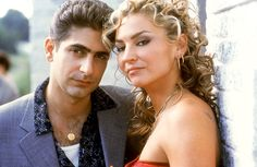 Jersey hair flashback: Christopher and Adriana from The Sopranos