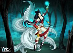 Ahri the Ninetails - League Of Legends
