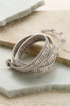 Everyday Wrap Bracelet - Wrap Bracelet, Triple-wrap Bracelet, Gold And Silver Bracelet | Soft Surroundings