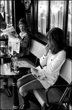 PARIS—Brasserie Lipp on St.-Germain-des-Prés, 1969. © Henri Cartier-Bresson / Magnum Photos