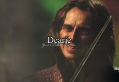 I LOOOOVE it the way he says Dearie, I don't know why, I just do :'D