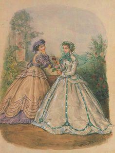 19th century, fashion plates