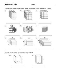 1000 images about math length width height volume on pinterest math formula chart. Black Bedroom Furniture Sets. Home Design Ideas