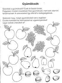 Nyomtatható játékos feladatlapok óvodás gyerekeknek. Preschool Worksheets, Preschool Kindergarten, Printable Worksheets, Scissor Practice, Cicely Mary Barker, Rainbow Fish, Autumn Theme, Diagram, Lily