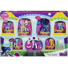 Playset Friendship Is Magic Midnight in Canterlot Favorite My Little Pony Set for sale online My Little Pony Dolls, All My Little Pony, My Little Pony Princess, Hasbro My Little Pony, My Little Pony Pictures, My Little Pony Friendship, Nightmare Moon, Diy Barbie Clothes, My Little Pony Merchandise