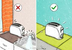 36 Mistakes That Shorten the Service Life of Your Home Appliances Mistakes, Save Yourself, Helpful Hints, Home Appliances, Creative, Life, Facts, Money, Health