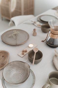 Dinner Sets, Dinner Table, Dinner Plates, Ceramic Tableware, Ceramic Design, Deco Table, Decoration Table, Wabi Sabi, Kitchen Interior