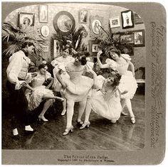 Old Ballet School by ilyaballet, via Flickr