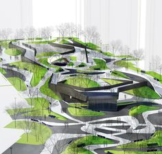 CHRISTOPHER COUNTS STUDIO | LANDCAPE | URBAN DESIGN - QNV GEOLOGIC RIFT / Zhuhai, China
