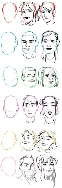 Fashion Illustration Tutorial Face Character Design 16 New Ideas Drawing Poses, Drawing Tips, Drawing Techniques, Art Reference Poses, Drawing Reference, Art Sketches, Art Drawings, Drawing Expressions, Poses References