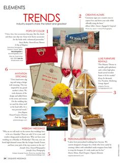 Engaged & Inspired featured in Exquisite Weddings Magazine