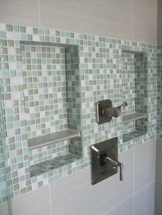 Bathroom remodel #shampooniche #niche