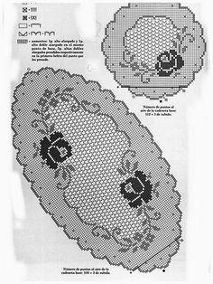 World crochet: Tablecloth 4