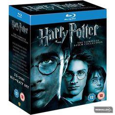 Harry Potter 1-8 Box (Blu-ray)