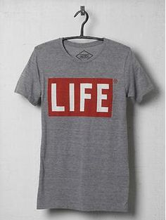 ALTRU LIFE Two Color Logo Tee Shirt | Piperlime