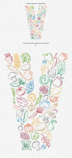 Vegan design collection by Chelovector on @creativemarket