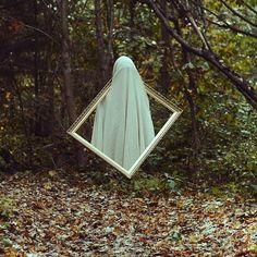 "This is the work of Christopher McKenney, a conceptual artist from Pennsylvania. He calls his photography style ""horror surrealist""."